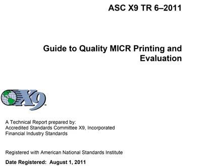 ASC X9 TR 6:2011