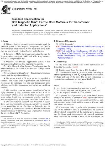 ASTM A1009-18