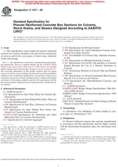 ASTM C1577-06