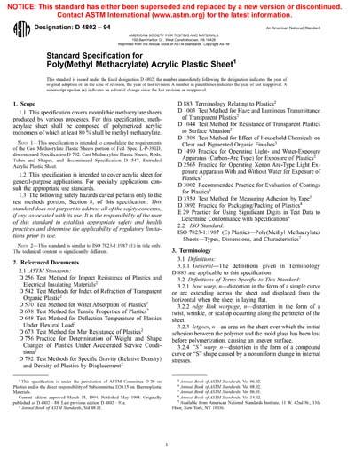 ASTM D4802-94