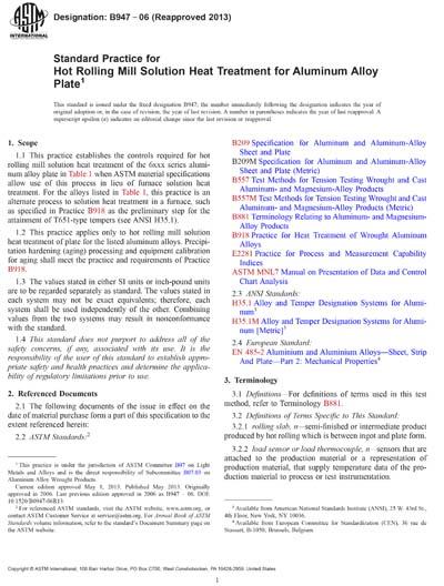 ASTM B947-06(2013)