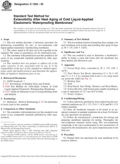 ASTM C1522-05