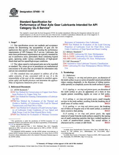 ASTM D7450-13