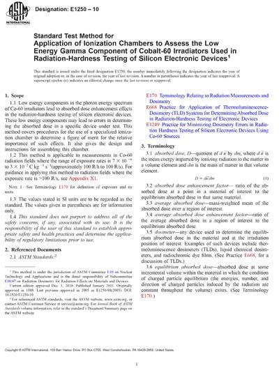ASTM E1250-10