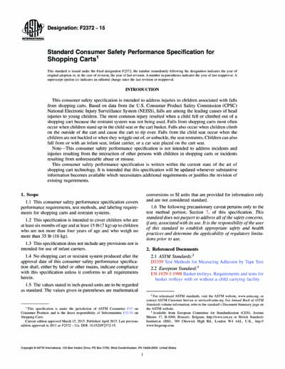 Standards PDF Cover Page
