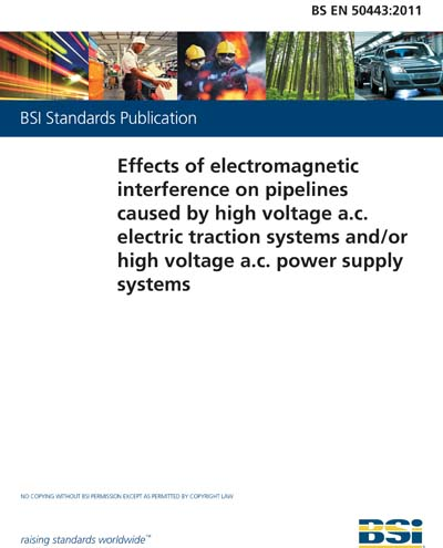 BS EN 50443:2011 - Effects of electromagnetic interference