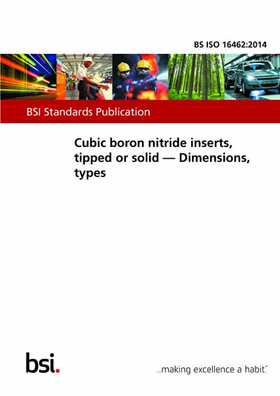 BS ISO 16462:2014