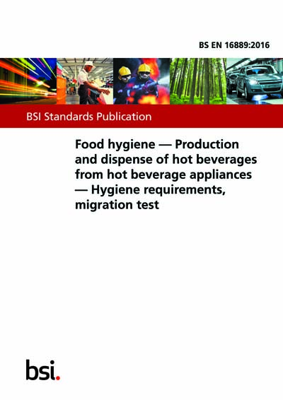 Bs En 168892016 Food Hygiene Production And Dispense Of