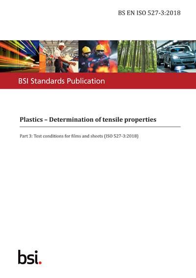 BS EN ISO 527-3:2018