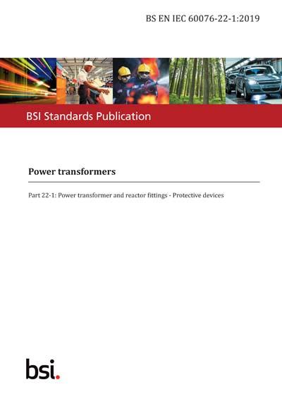 BS EN IEC 60076-22-1:2019