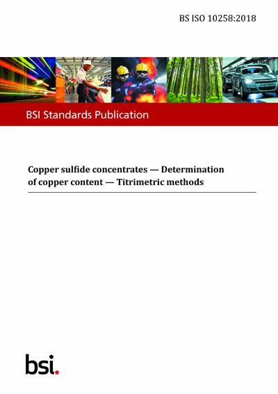 BS ISO 10258:2018