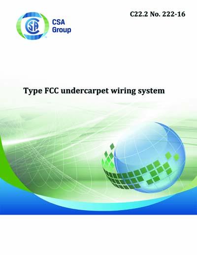 Super Csa C22 2 No 222 2016 C22 2 No 222 16 Type Fcc Undercarpet Wiring Database Cominyuccorg