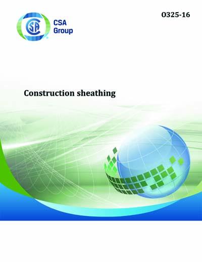 Csa O325 2016 O325 16 Construction Sheathing