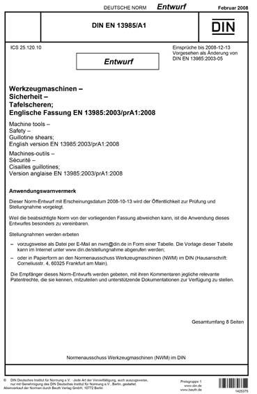 DIN EN 13985/A1:2008