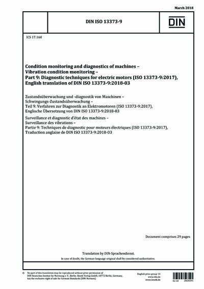 DIN ISO 13373-9:2018