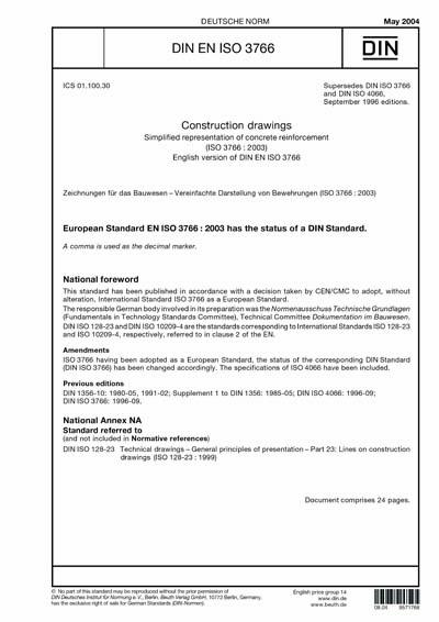 DIN EN ISO 3766:2004