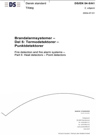 Standard pdf en54