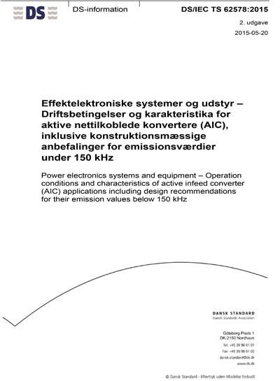 DS/IEC TS 62578:2015