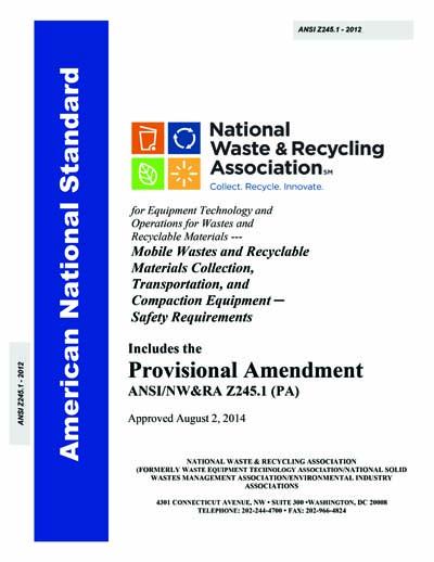 ANSI Z245 1-2012 (PA)
