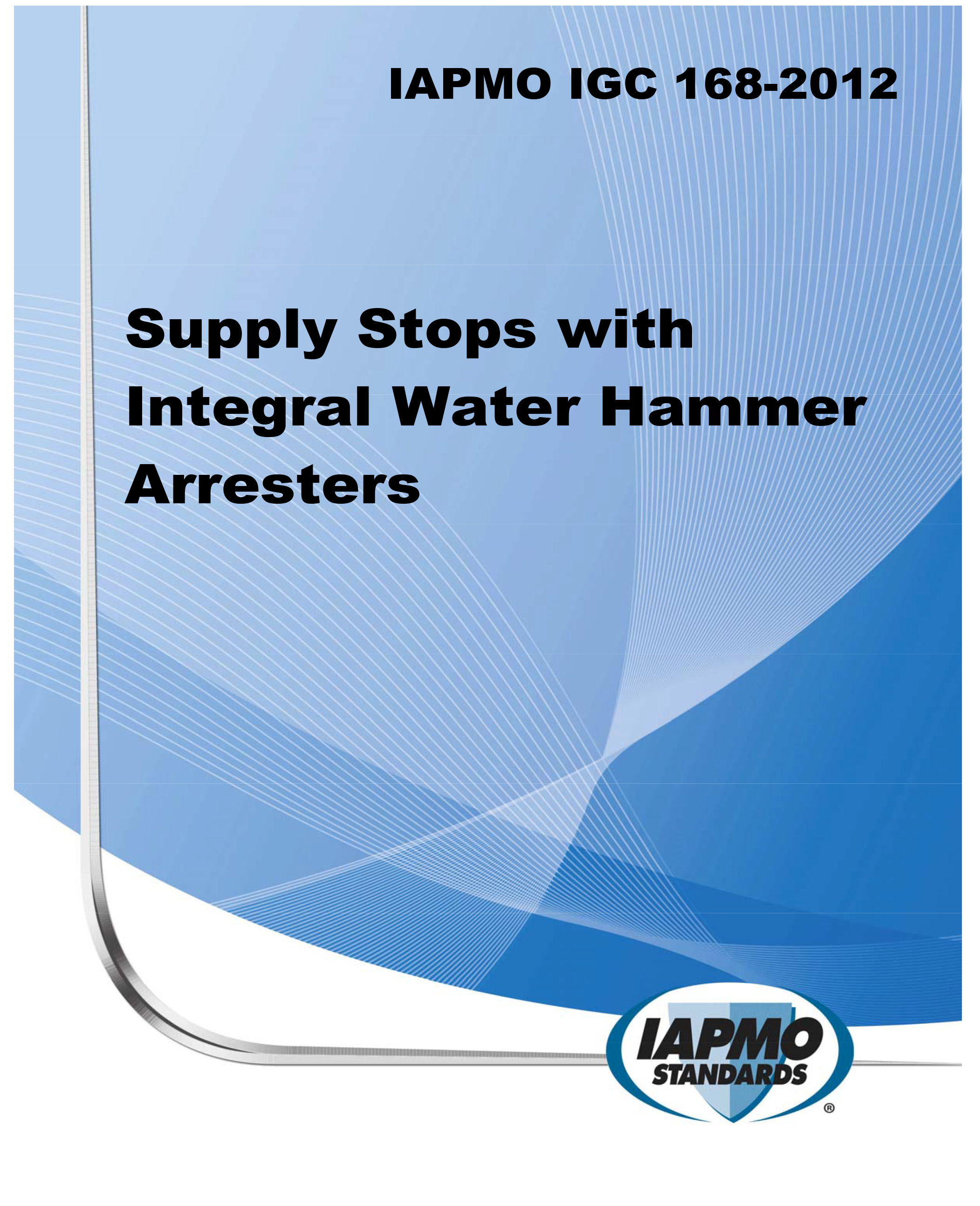 IAPMO IGC 168-2012