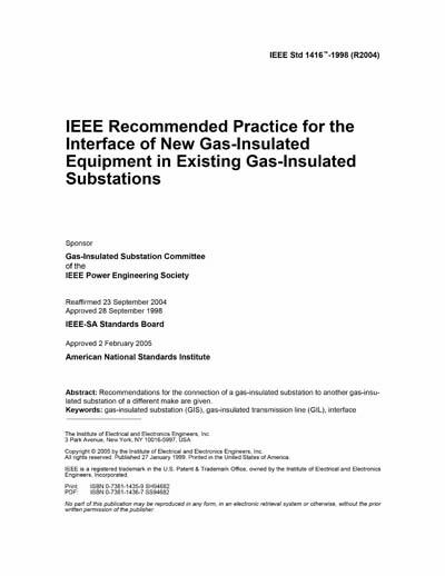 IEEE 1416-1998 (R2004)