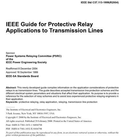 IEEE C37 113-1999 (R2004)