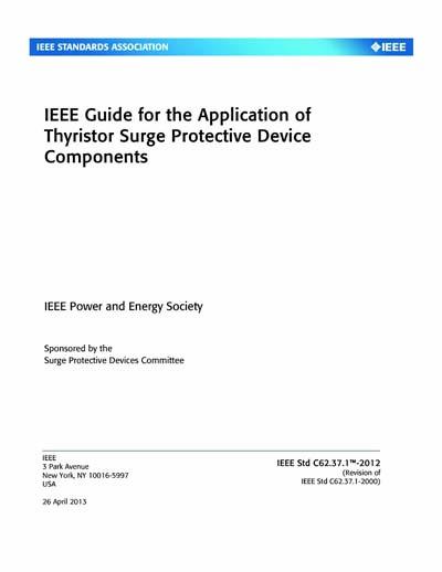 IEEE C62 37 1-2012