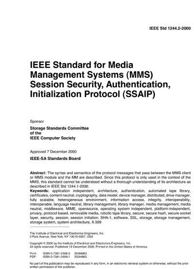 IEEE 1244 2-2000