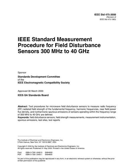 IEEE 475-2000
