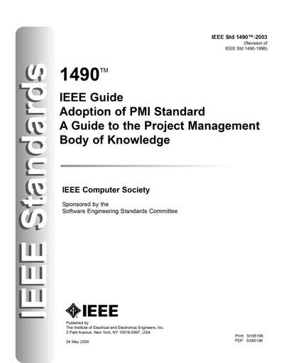 IEEE Std 1490-2003