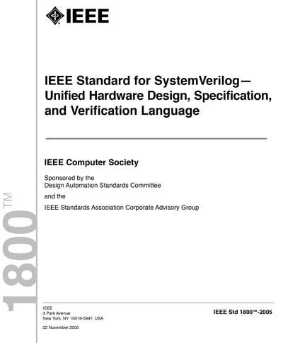IEEE Std 1800-2005