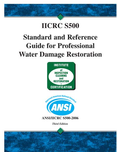 Iicrc s500 3rd edition standard and reference guide for.