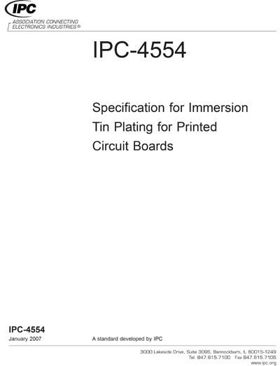 IPC 4554-2007