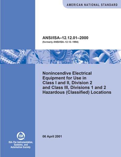 ANSI/ISA 12 12 01-2000