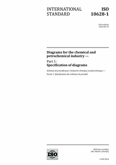 ISO 10628-1:2014 - Diagrams for the chemical and petrochemical