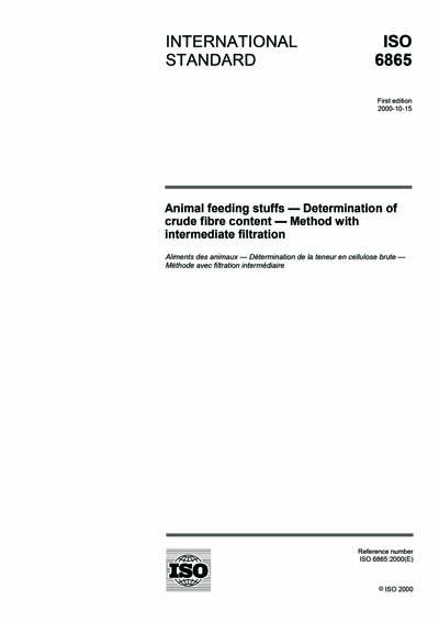 determination of crude fibre content