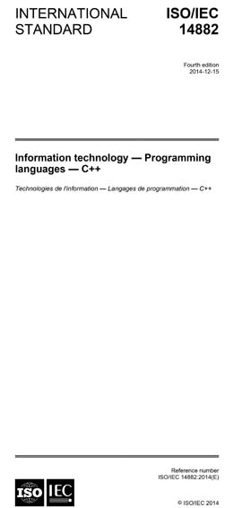ISO/IEC 14882:2014 - Information technology - Programming