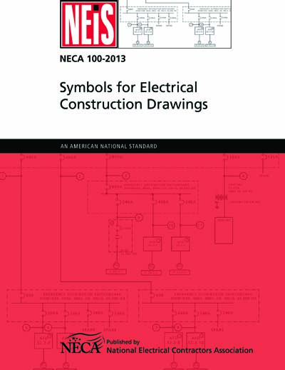 Neca 100 2013 Symbols For Electrical Construction Drawings Ansi