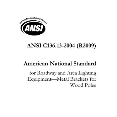 ANSI C136 13-2004 (R2009)