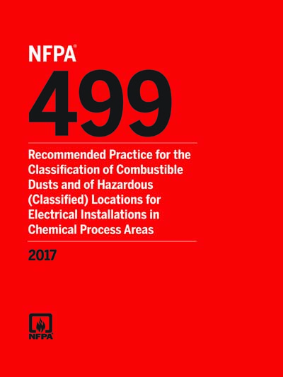 NFPA 499-2017 - NFPA 499 Recommended Practice for the Classification