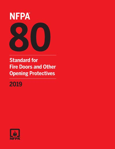 NFPA 80 2019 NFPA 80 Standard For Fire Doors And Other
