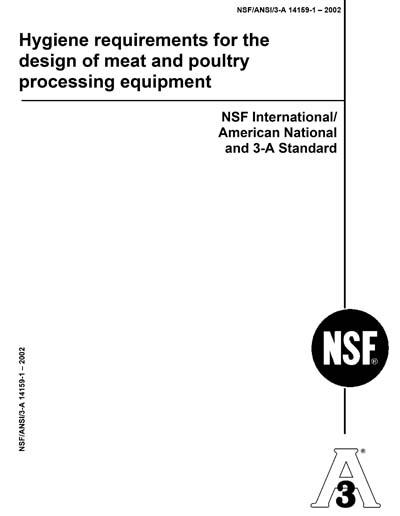 NSF/ANSI 3-A 14159-1-2002