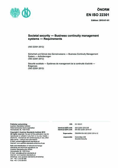ISO 22301 - Treinamento de Conscientização ...
