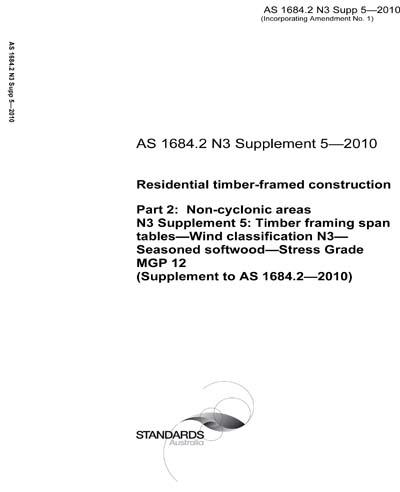 AS 1684 2 N3 Supp 5-2010