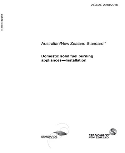 As Nzs 2918 2018 Domestic Solid Fuel Burning Appliances
