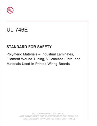 Pleasant Ul 746E Ed 6 2016 Standard For Polymeric Materials Industrial Wiring Cloud Hisonuggs Outletorg