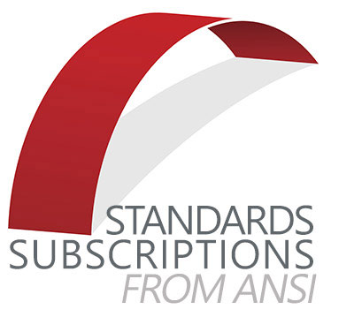 Standards Subscriptions from ANSI