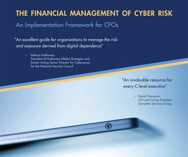 The Financial Management of Cyber Risk
